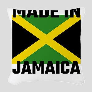 Made In Jamaica Woven Throw Pillow