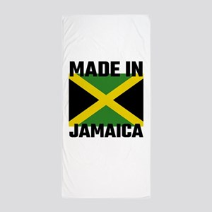Made In Jamaica Beach Towel