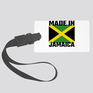 Made In Jamaica Large Luggage Tag