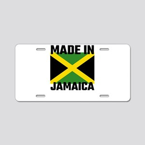 Made In Jamaica Aluminum License Plate