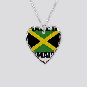 Made In Jamaica Necklace Heart Charm