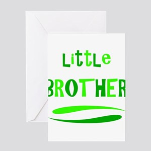 Little Brother Greeting Cards
