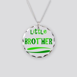 Little Brother Necklace Circle Charm