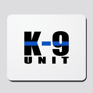 K-9 Unit Blue Line Mousepad