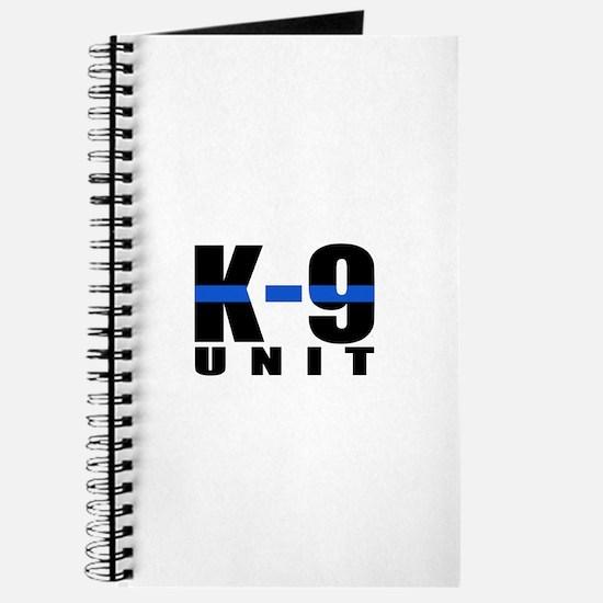 K-9 Unit Blue Line Journal