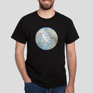 Arctic Circle Map T-Shirt