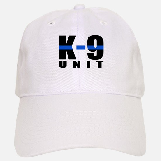 K-9 Unit Blue Line Baseball Baseball Cap