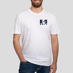 K-9 Unit Blue Line Fitted T-Shirt
