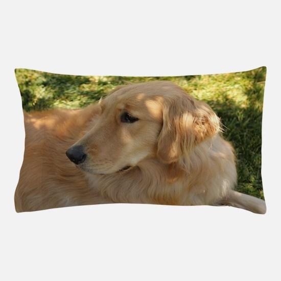 Cute Golden retriever Pillow Case