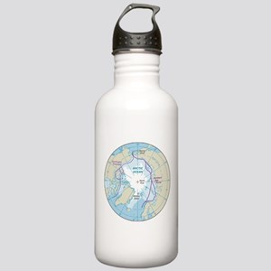 Arctic Circle Map Stainless Water Bottle 1.0L