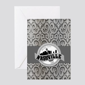 Nashville Music City-SG5-01 Greeting Card