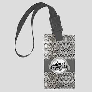 Nashville Music City-SG5-01 Large Luggage Tag