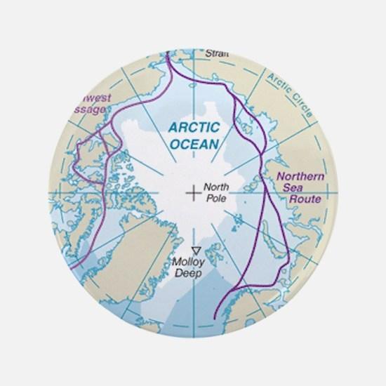 Arctic Circle Map Button