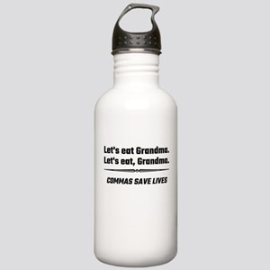 Let's Eat Grandma Comm Stainless Water Bottle 1.0L