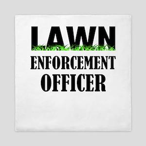 Lawn Enforcement Officer Queen Duvet