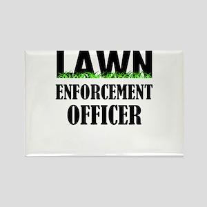 Lawn Enforcement Officer Magnets