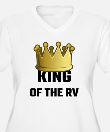 King Of The RV Plus Size T-Shirt