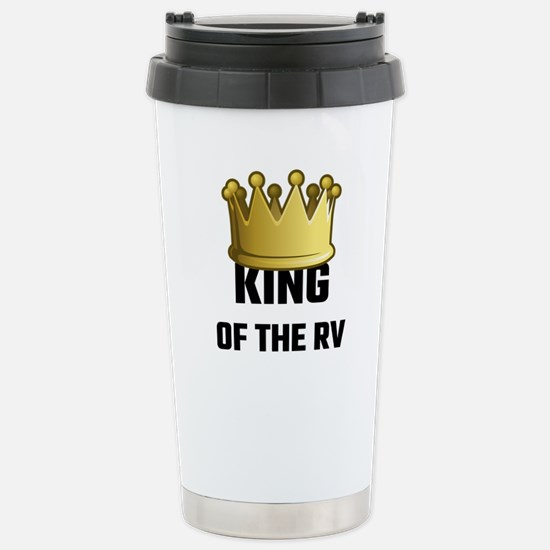 King Of The RV Stainless Steel Travel Mug