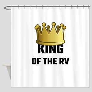 King Of The RV Shower Curtain