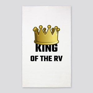 King Of The RV Area Rug