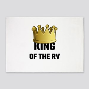 King Of The RV 5'x7'Area Rug