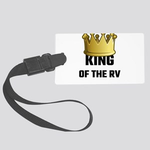 King Of The RV Large Luggage Tag