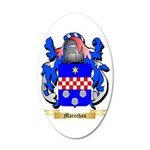 Marechau 35x21 Oval Wall Decal