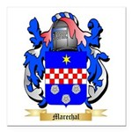 Marechal Square Car Magnet 3