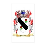Marecek Sticker (Rectangle 50 pk)