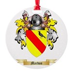 Mardon Round Ornament