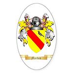 Mardon Sticker (Oval 50 pk)