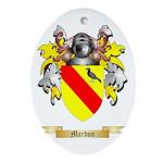Mardon Oval Ornament