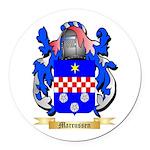 Marcussen Round Car Magnet