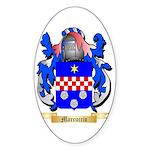 Marcuccio Sticker (Oval 50 pk)