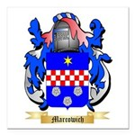 Marcowich Square Car Magnet 3