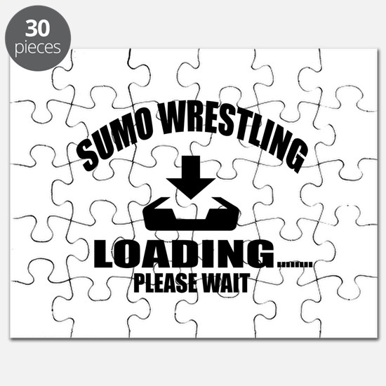 Sumo Wrestling Loading Please Wait Puzzle