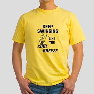 Keep Swinging I Like The Cool Breeze T-Shirt