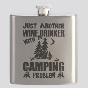 Just Another Wine Drinker With A Camping Pro Flask