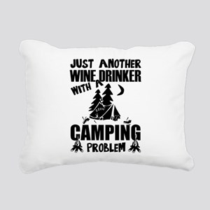 Just Another Wine Drinke Rectangular Canvas Pillow