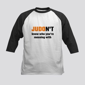 JUDOn't Know Who You're Messing Wi Baseball Jersey