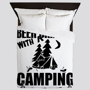 Just Another Beer Drinker With A Campi Queen Duvet