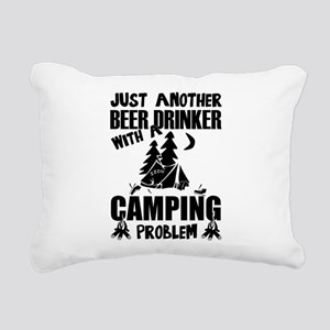 Just Another Beer Drinke Rectangular Canvas Pillow