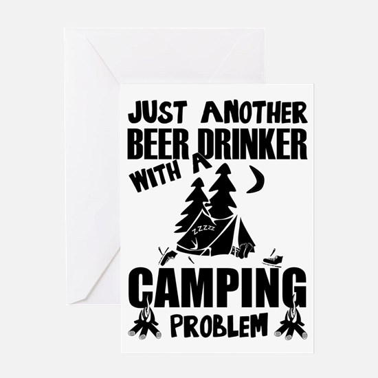 Just Another Beer Drinker With A Ca Greeting Cards