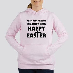 It's Not About The Bunny Women's Hooded Sweatshirt