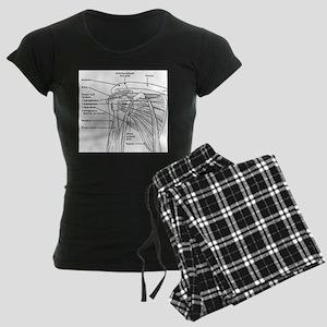 Shoulder Joint Women's Dark Pajamas