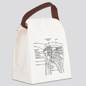 Shoulder Joint Canvas Lunch Bag