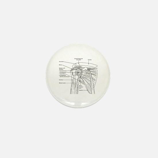 Shoulder Joint Mini Button