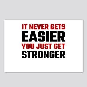 It Never Gets Easier You Postcards (Package of 8)