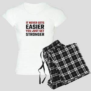 It Never Gets Easier You Ju Women's Light Pajamas