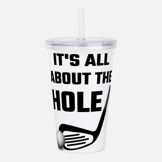 It's All About The Hol Acrylic Double-wall Tumbler